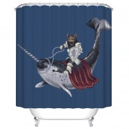 "Fashionable Bathroom Waterproof Shower Curtain, 70"" W x 72"" H (DK-YT008)"
