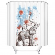 "Fashionable Bathroom Waterproof Shower Curtain, 70"" W x 72"" H (DK-YT018)"