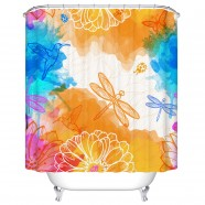"Fashionable Bathroom Waterproof Shower Curtain, 70"" W x 72"" H (DK-YT022)"
