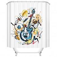 "Fashionable Bathroom Waterproof Shower Curtain, 70"" W x 72"" H (DK-YT027)"