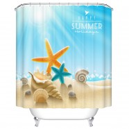"Fashionable Bathroom Waterproof Shower Curtain, 70"" W x 72"" H (DK-YT030)"