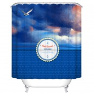 "Fashionable Bathroom Waterproof Shower Curtain, 70"" W x 72"" H (DK-YT032)"