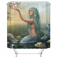 "Fashionable Bathroom Waterproof Shower Curtain, 70"" W x 72"" H (DK-YT035)"