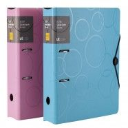 Thickened Three-layered Foamed PP Lever Arch Binder, A4, Assorted Colours (DK-FAF1014-3)