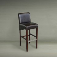 Upholstered Wooden Bar Stool (PJH068)