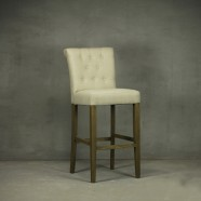 Upholstered Wooden Bar Stool (PJH082)