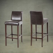 Upholstered Wooden Bar Stool (PJH372)