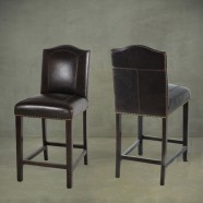 Upholstered Wooden Bar Stool (PJL321)