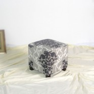 Upholstered Fabric Ottoman (PJO063)