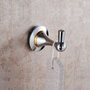 Robe Hook - Chrome Brass (80353)