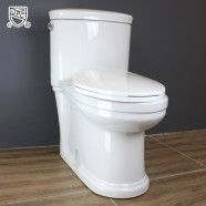 White Siphonic One-piece Low Flow Toilet (MY-2195)
