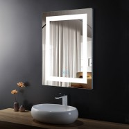 24 x 32 In Vertical LED Bathroom Mirror with Anti-fog Function (DK-OD-CK010-W)