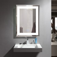 28 x 36 In Vertical LED Bathroom Mirror with Anti-fog Function (DK-OD-CK168-W1)