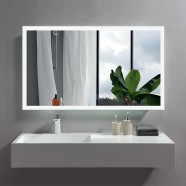 48 x 28 In Horizontal LED Bathroom Mirror with Anti-fog Function (DK-OD-N031-W5)