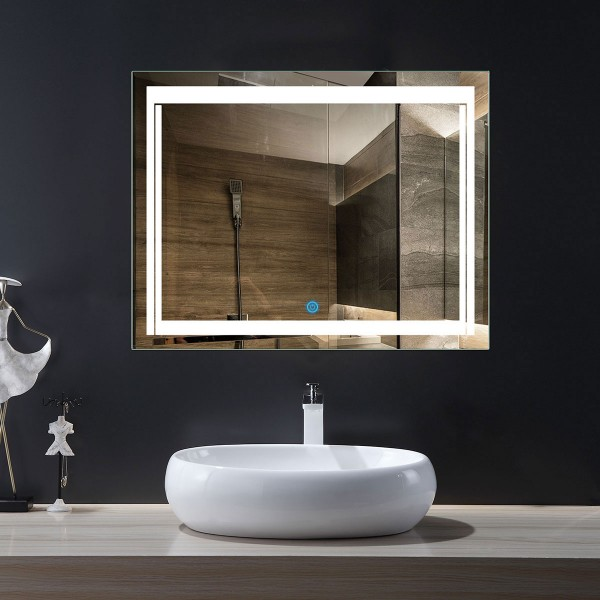 Admirable Led Lighted Mirror For Home Decor Buy Oval Circle Wood Download Free Architecture Designs Scobabritishbridgeorg