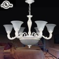 Metal & Resin Built Classic Style 6+3 Light Chandelier/Diameter 32 Inch (CH0064-6-3)