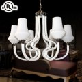 Glass Built 6-Light Modern Chandelier/Diameter 23 Inch (HD9331-6)