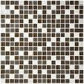 12 in. x 12 in. Glass/Stone Blend Mosaic Tile - 8mm Thickness (AD801022)