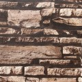 Stonewall Wallpaper / Rustic Stones PVC Room Wall Decoration (57 sq.ft/Roll) (DK-SE452003)
