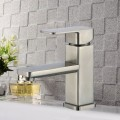 Basin&Sink Faucet - Brass in Brushed Nickel (81H36-BN-012)