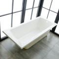 67 In Drop-in Bathtub - Acrylic White (DK-BYC1700)