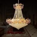 36-Light Gold Crystal Hall Chandelier (HY02SJD035A)