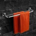 Double Towel Bar 21.7 Inch - Chrome Brass (8910)
