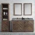 60 In. Freestanding Bathroom Vanity Set (DK-WH9660-BR-SET)