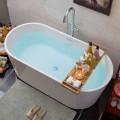 62 In Freestanding Bathtub - Acrylic Pure White (DK-PW-94674)