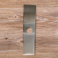 Faucet Hole Cover Deck Plate - Stainless Steel with Brushed Finish (P411BN)