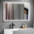 40 x 28 In Horizontal LED Bathroom Mirror with Touch Button (DK-CK205)