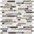 12 in. x 12 in. Electroplated Glass Mosaic Tile - 8mm Thickness (DK-RS234873C1)