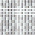12 in. x 12 in. Electroplated Glass Mosaic Tile - 8mm Thickness (DK-RS2301S1)