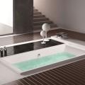 60 In Rectangle Built-in Bathtub – Acrylic White (DK-MEC3057A)