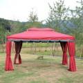 13.12 ft. x 13.12 ft. Roman Style Cabin Gazebo (LM-005-4)