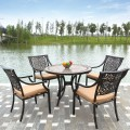 5 Pieces Dinning Set: Dining Table, 4 Chairs (LLS-CA016)