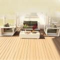 4-Piece PE Rattan Sofa Set: Loveseat, 2 Lounge Chairs, Coffee Table (LLS-P43)