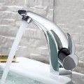Basin&Sink Faucet - Single Hole Single Lever - Brass with Chrome Finish (6117)