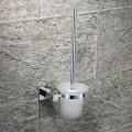 Toilet Brush Holder - Chrome Brass (2508)