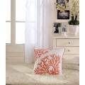 Coral Printed Cotton Cushion Cover (DK-LG003-2)