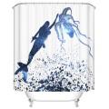 "Fashionable Bathroom Waterproof Shower Curtain, 70"" W x 72"" H (DK-YT017)"