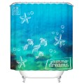 "Fashionable Bathroom Waterproof Shower Curtain, 70"" W x 72"" H (DK-YT031)"