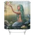 "Fashionable Bathroom Waterproof Shower Curtain, 70"" W x 72"" H (DK-YT035)"