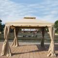 9.84 ft. x 9.84 ft. Roman Style Cabin Gazebo  (LM-002-1)