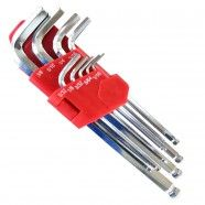 9 pieces SAE Hex Key Set (HW-IN9pcL)