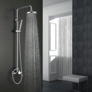 Rain Shower Head - Brass with Chrome Finish (9460)