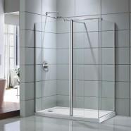 60 In. Shower Door with 36 In. Side Panel (DK-D203-150)