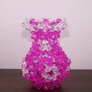 Handmade craft by bead/Fancy Vase Shap (DK-CZ54)