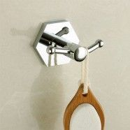 Robe Hook - Chrome Brass (40953)