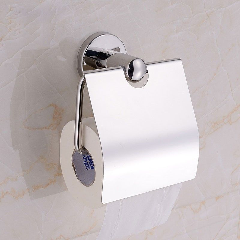 Support pour Papier Hygiénique - Laiton Fini Chrome (80751)